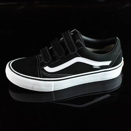 Vans Old Skool V Pro Shoes Black, White in stock now.