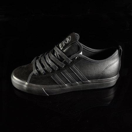 adidas Matchcourt Low RX Shoes Marc Johnson, Black, Black, Metallic Silver