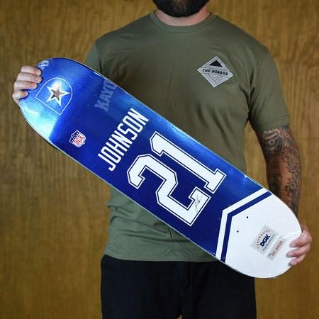 DGK Boo Johnson Throwback Deck Blue