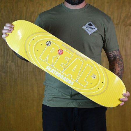 Real Renewal Oval Deck Yellow in stock now.