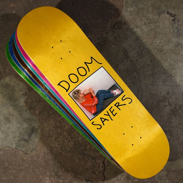 Doom Sayers Becky Deck Assorted Stains