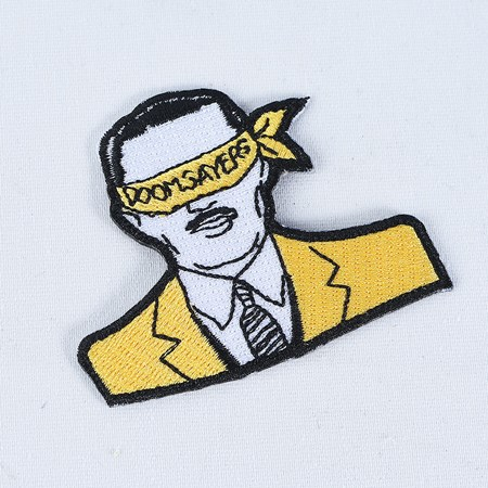Doom Sayers Corp Guy Patch Black, Yellow