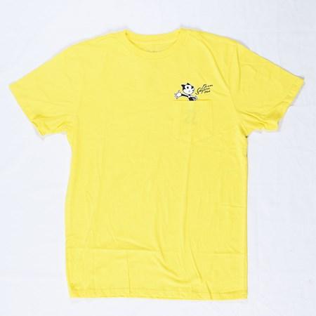 Doom Sayers Felix Censored Pocket T Shirt Yellow