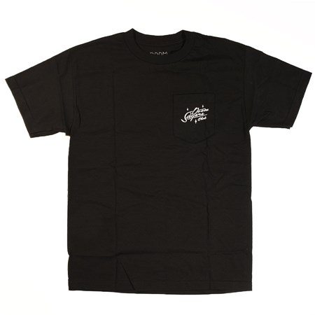 Doom Sayers Felix Uncensored Pocket T Shirt Black