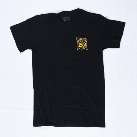 Doom Sayers Snake Phone T Shirt Black