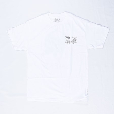 Doom Sayers Riot Helmet T Shirt White