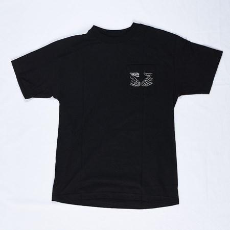 Doom Sayers Snake Shake Pocket T Shirt Black