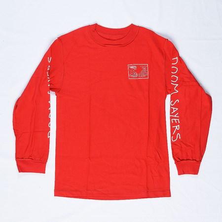 Doom Sayers Snake Shake Long Sleeve T Shirt Red
