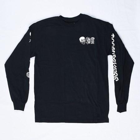 Doom Sayers X-Ray Vision Long Sleeve T Shirt Black