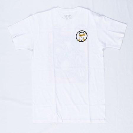 Doom Sayers Snake Anatomy T Shirt White