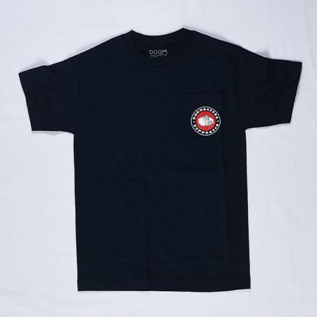 Doom Sayers Poker Chip Pocket T Shirt Navy