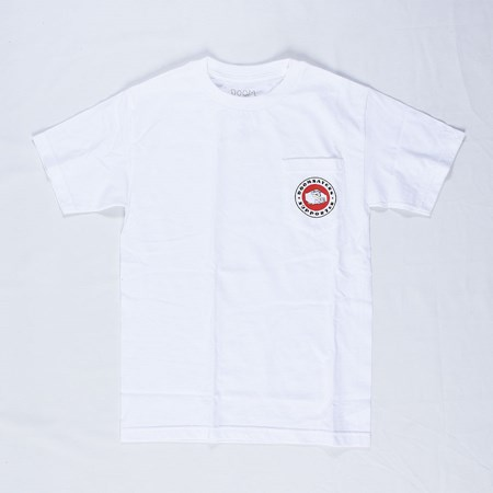 Doom Sayers Poker Chip Pocket T Shirt White