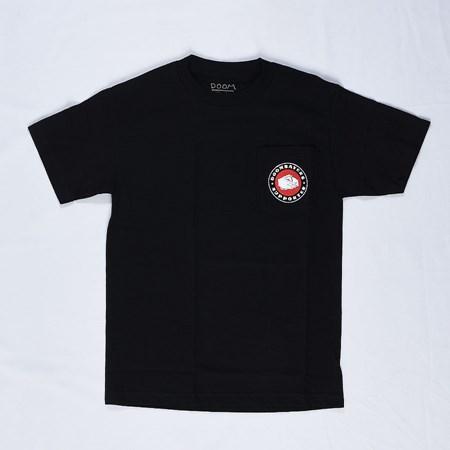 Doom Sayers Poker Chip Pocket T Shirt Black