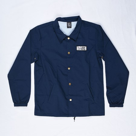 Doom Sayers We Appreciate Coaches Jacket Navy