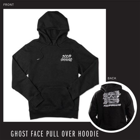 Doom Sayers Ghost Face Hoodie Black