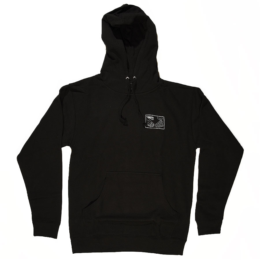 Black, White Hoodies and Sweaters Snake Shake Hoodie in Stock Now