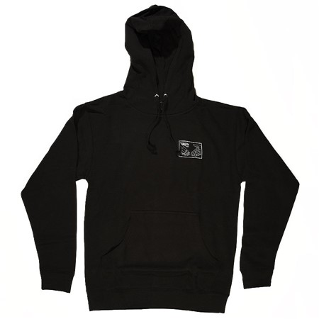 Doom Sayers Snake Shake Hoodie Black, White