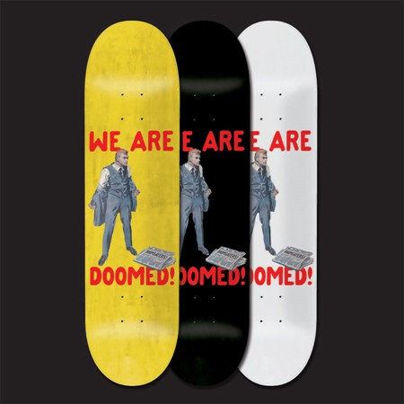 Doom Sayers We Are Doomed Deck Assorted Stains