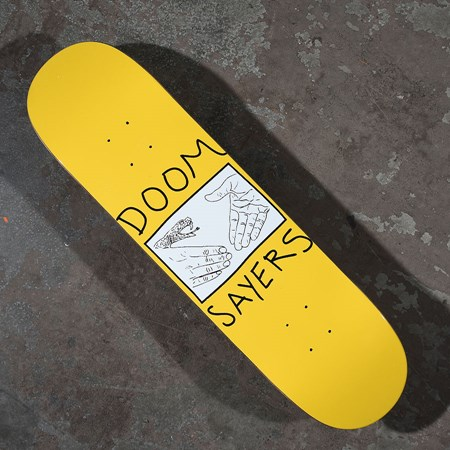 Doom Sayers Snake Shake Deck Yellow, Black