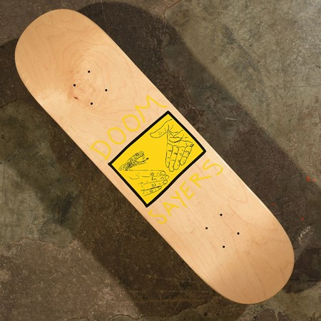 Doom Sayers Snake Shake Deck Natural, Yellow