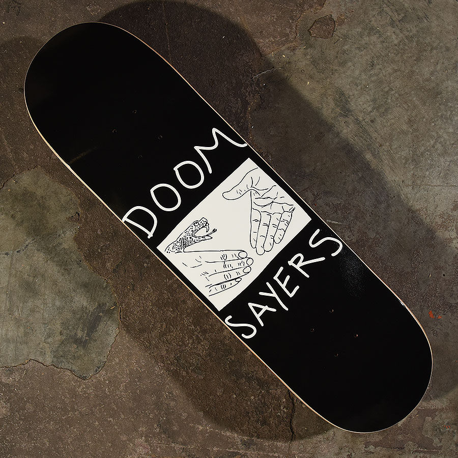 Black, White Decks Snake Shake Deck in Stock Now