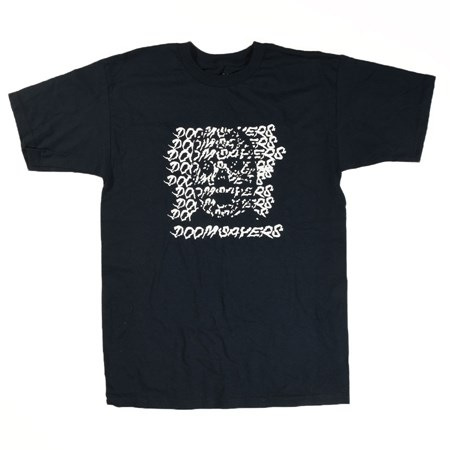 Doom Sayers Ghost Face T Shirt Navy