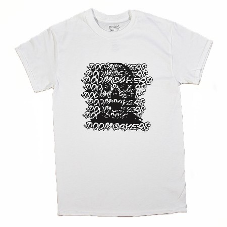 Doom Sayers Ghost Face T Shirt White