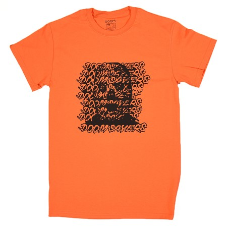 Doom Sayers Ghost Face T Shirt Orange