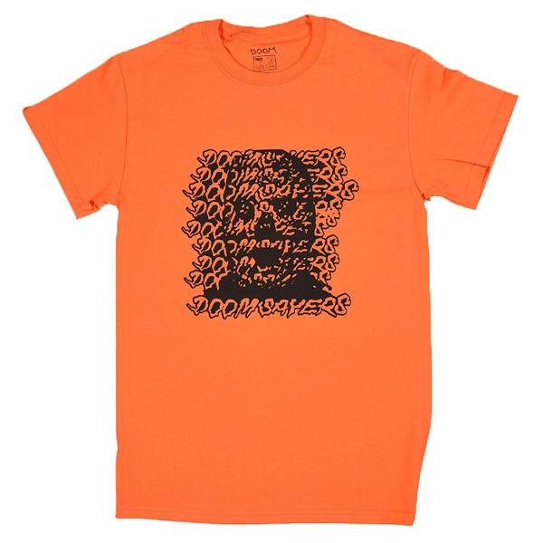 Doom Sayers Ghost Face T Shirt Orange