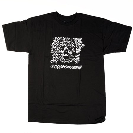 Doom Sayers Ghost Face T Shirt Black