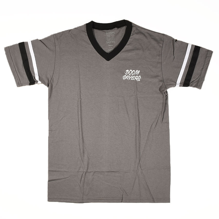 Grey, Black, White T Shirts Doom Sayers Vintage Jersey in Stock Now