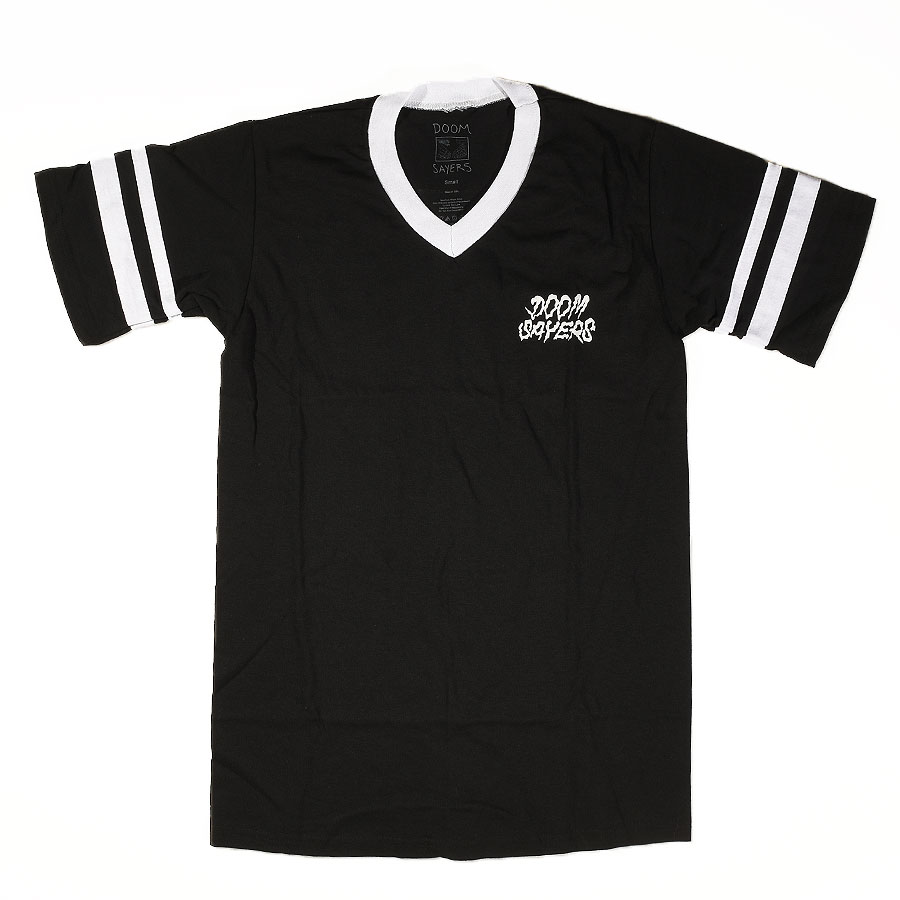 Black, White T Shirts Doom Sayers Vintage Jersey in Stock Now