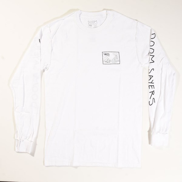 57872685 Inside Out Snake Shake Long Sleeve T Shirt White In Stock at Doom ...