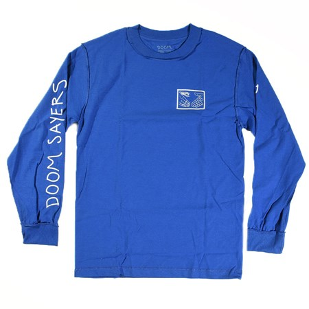 Doom Sayers Inside Out Snake Shake Long Sleeve T Shirt Royal