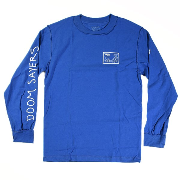 a6232b9c Inside Out Snake Shake Long Sleeve T Shirt Royal In Stock at Doom ...