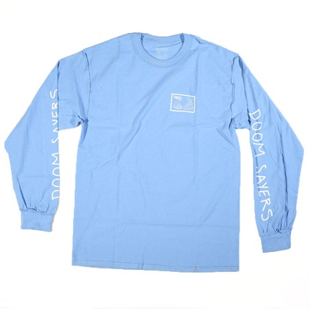 Doom Sayers Inside Out Snake Shake Long Sleeve T Shirt Light Blue