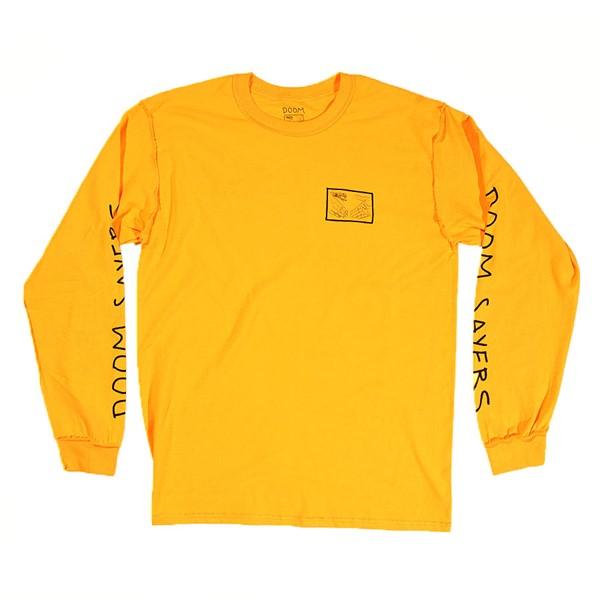 Doom Sayers Inside Out Snake Shake Long Sleeve T Shirt Yellow