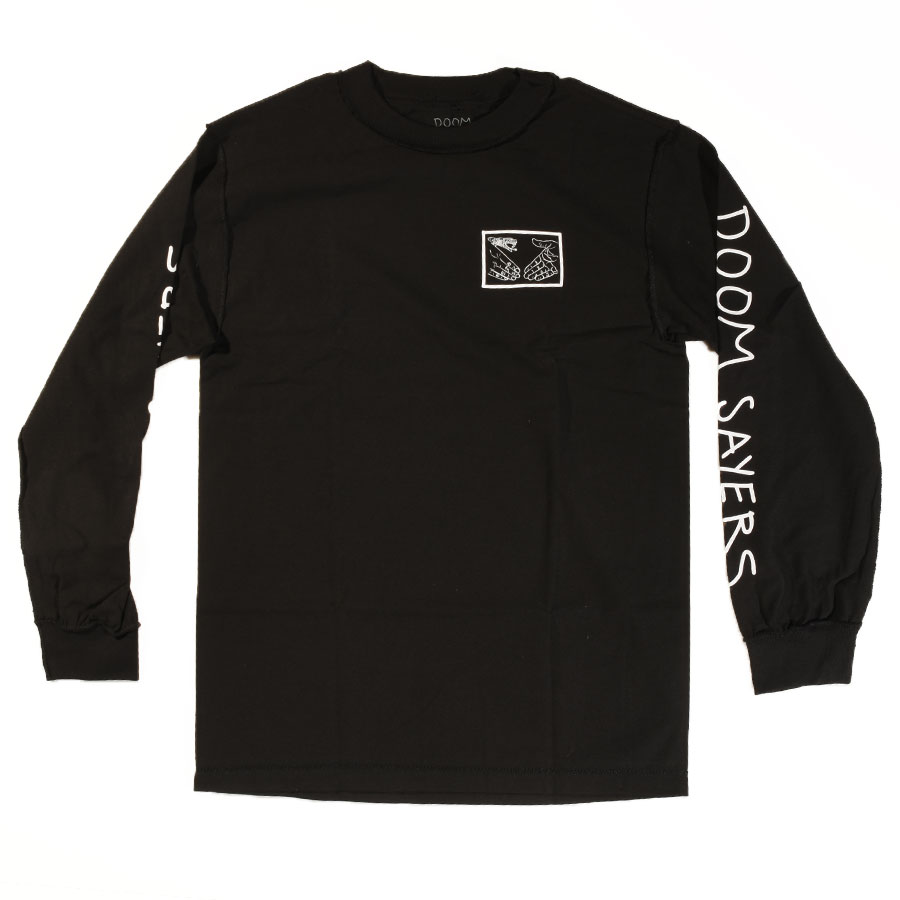 810cdccb Inside Out Snake Shake Long Sleeve T Shirt Black In Stock at Doom Sayers  Club Store