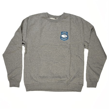 Doom Sayers Corp Cop Crew Neck Sweatshirt Heather Grey
