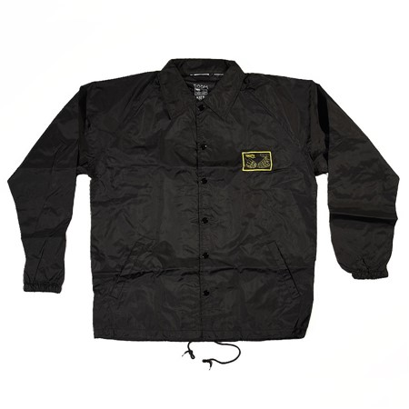Doom Sayers Snake Shake Coaches Jacket Black, Yellow