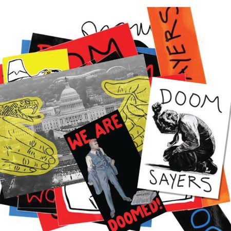 Doom Sayers Fall '17 Sticker Pack Assorted