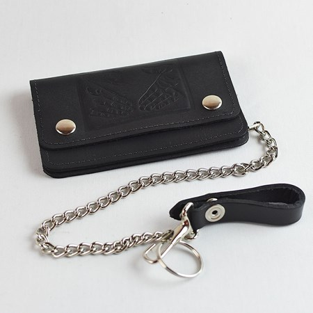 Doom Sayers Snake Shake Chain Wallet Black