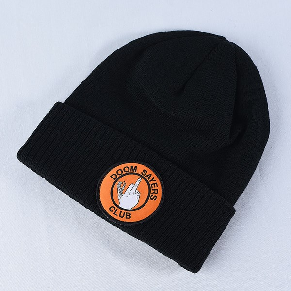 Doom Sayers Up Yours Beanie Black