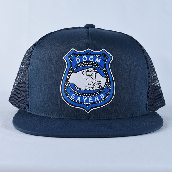 Doom Sayers Corp Guy Trucker Hat Navy