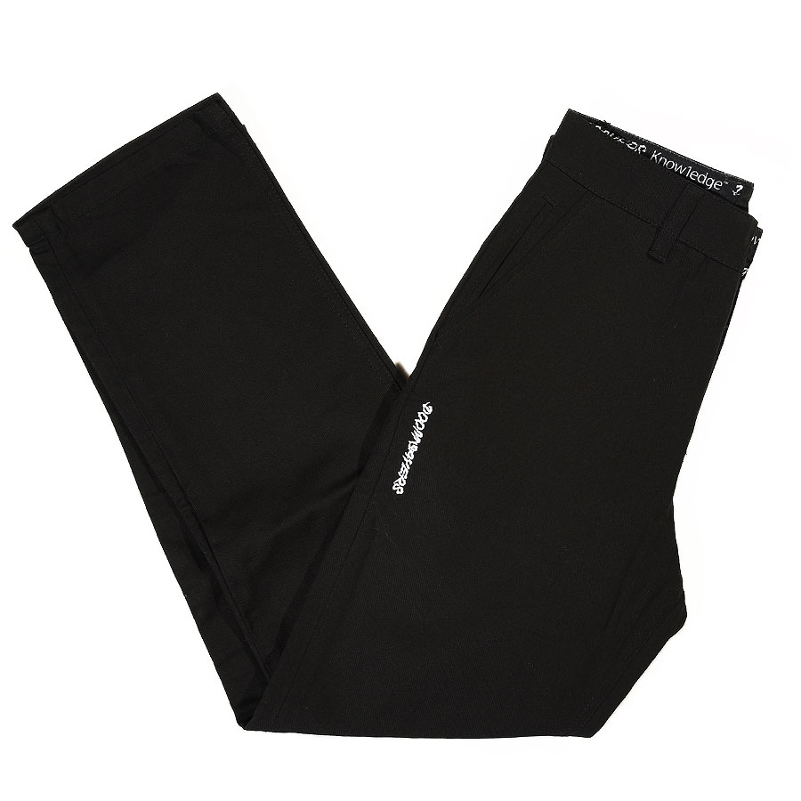 Black Pants and Jeans DSC X Knowledge Brasco Pants in Stock Now