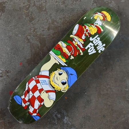 Deathwish Jamie Foy Big Boy Foy Deck Assorted Stains