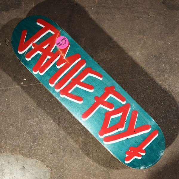 Deathwish Jamie Foy Gang Name Deck Assorted Stains