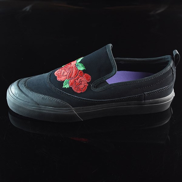adidas Na-Kel Smith Matchcourt Slip Shoes Core Black, Scarlet, Light Purple