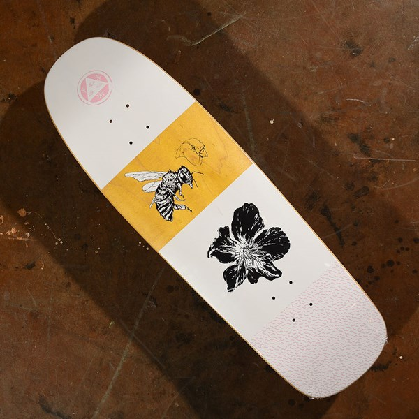 Welcome Adaptation On Slappy Slap Deck White, Pink