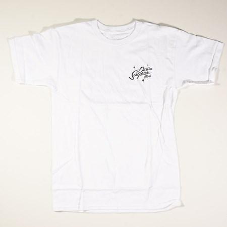 Doom Sayers Sacto Script 2 T Shirt White in stock now.